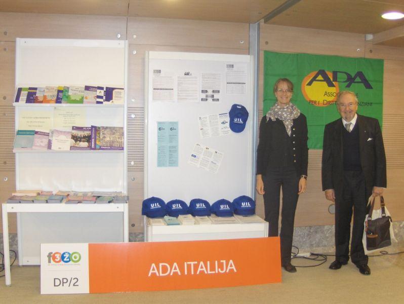 L'ADA e la UIL FVG partecipano al Festival della Terza Età a Ljubljana