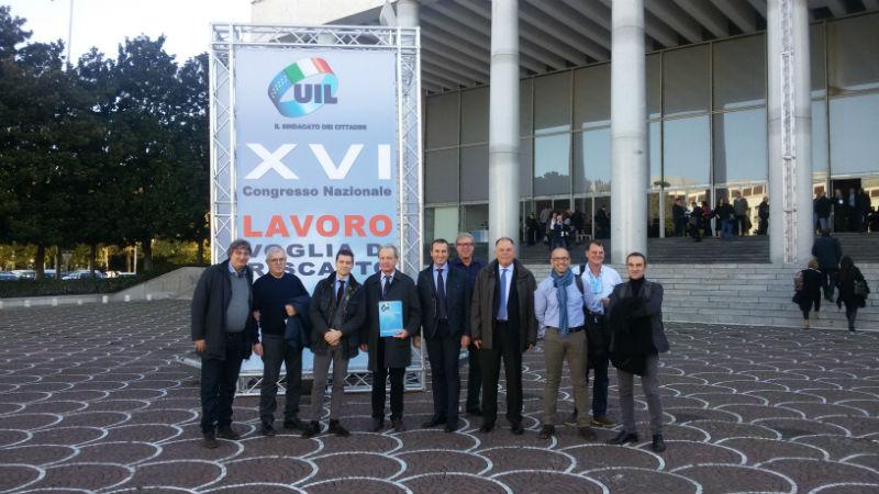 XVI CONGRESSO DELLA UIL NAZIONALE – LAVORO VOGLIA DI RISCATTO