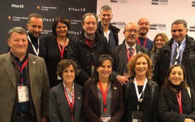 La UIL partecipa al 4° Congresso Mondiale della Confederazione Sindacale Internazionale