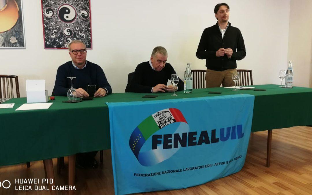 FENEAL UIL FVG, MASSIMO MINEN NUOVO SEGRETARIO REGIONALE