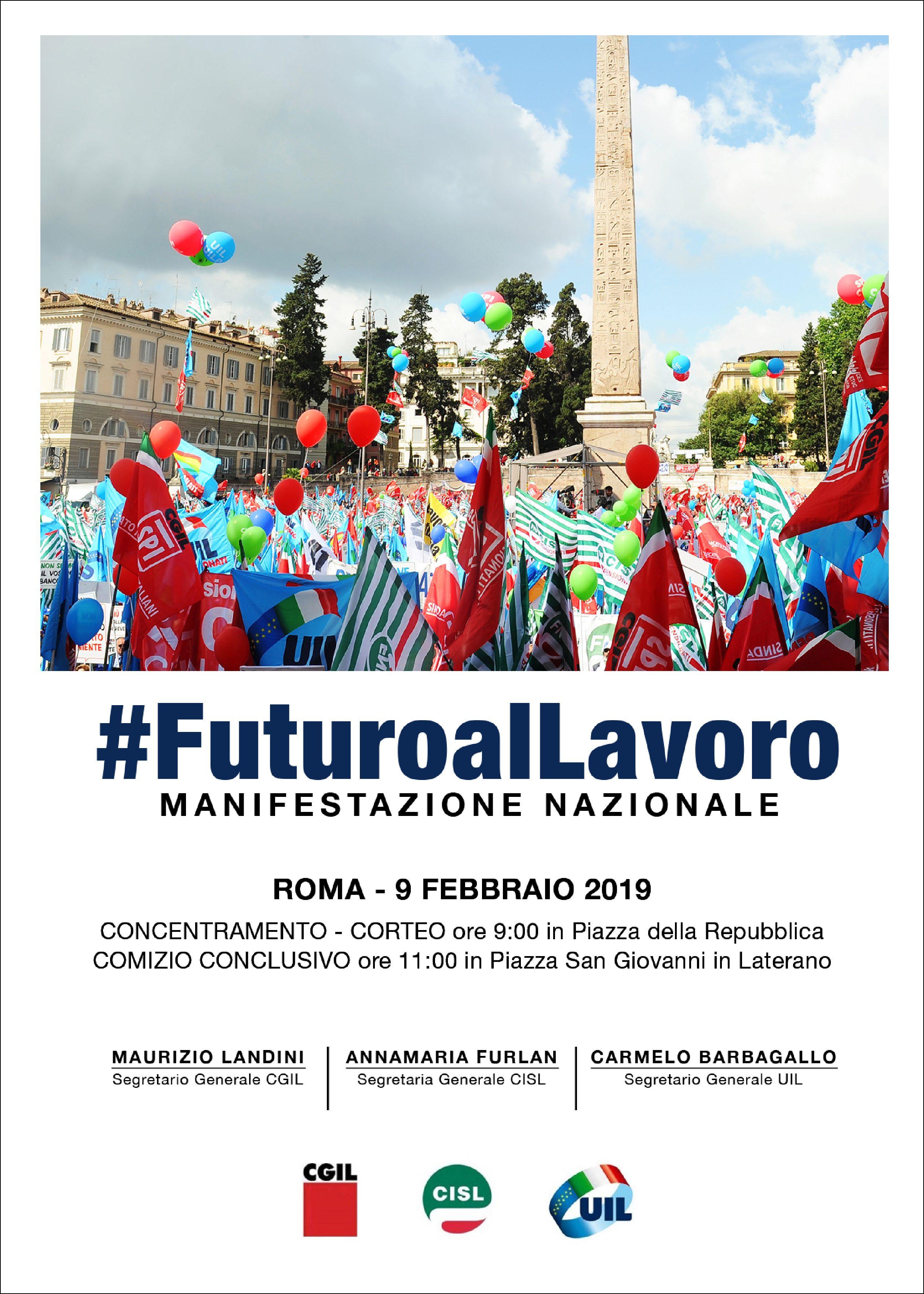 «UNA MANOVRA CHE NON CREA SVILUPPO»: DAL FVG 1.600 A ROMA CON CGIL, CISL E UIL