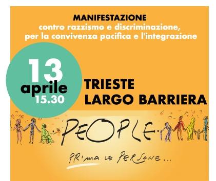 Manifestazione contro razzismo e discriminazione, per la convivenza pacifica e l'integrazione