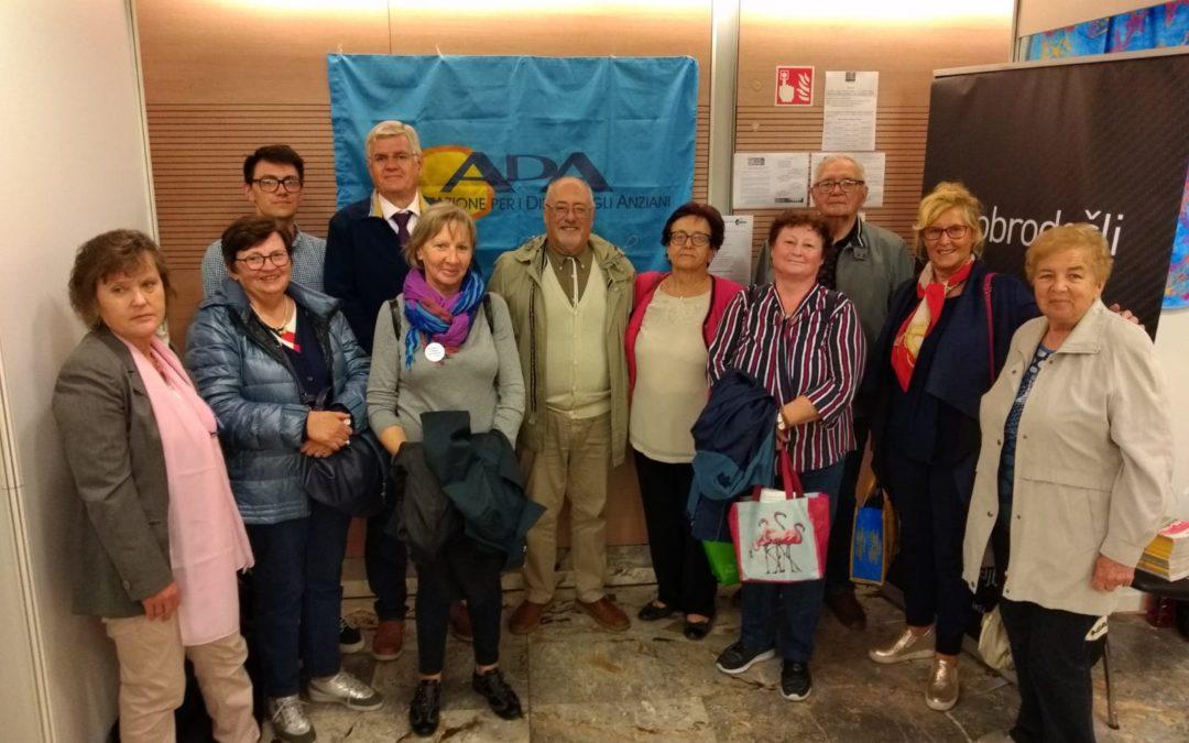 ADA FVG al Festival della terza età di Lubiana