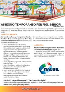 ITAL UIL - Assegno temporaneo per figli minori